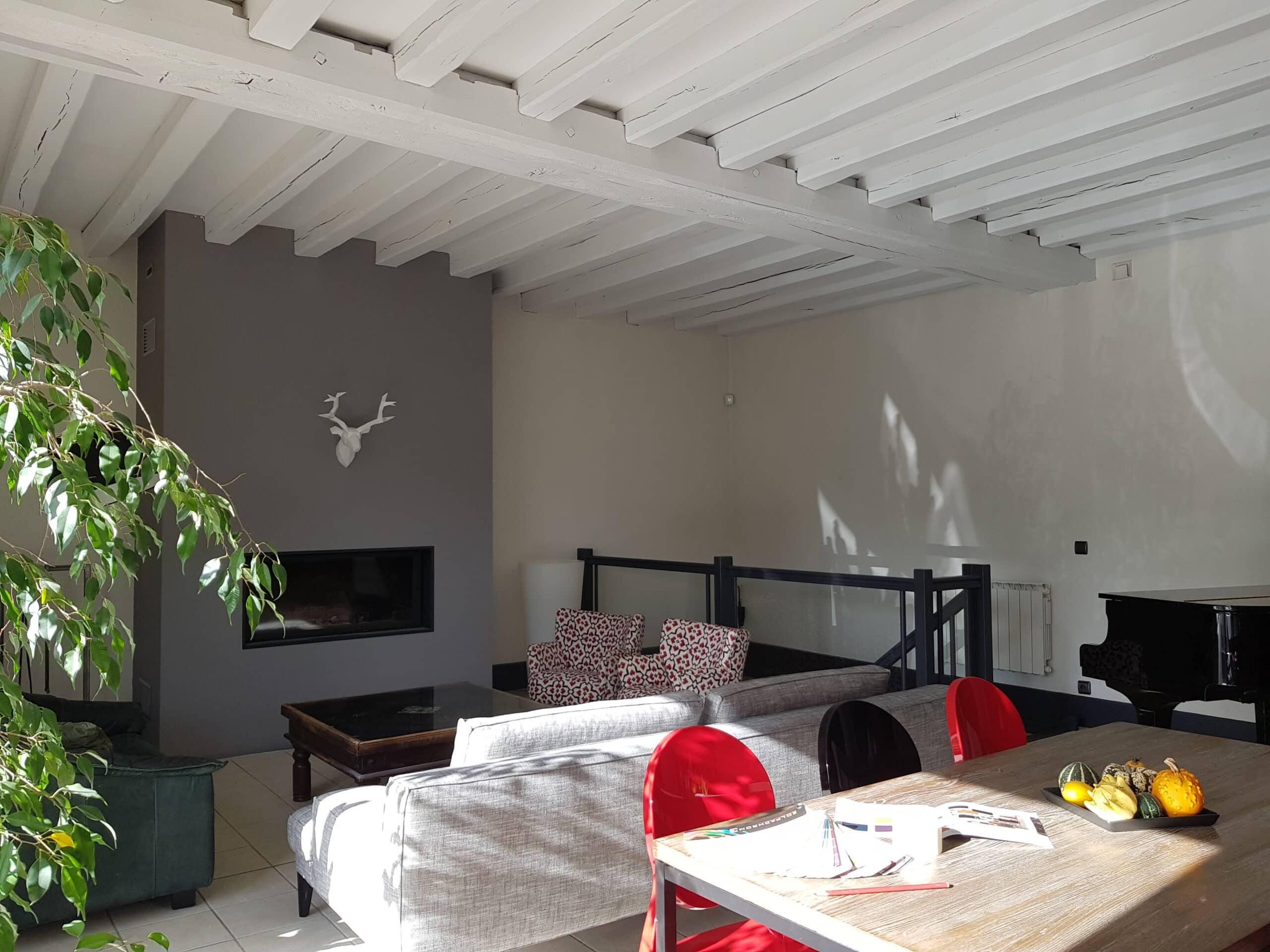 mathieu peinture orl ans nos travaux pour particuliers en photos. Black Bedroom Furniture Sets. Home Design Ideas