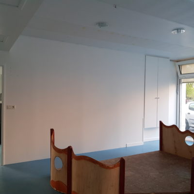 Rénovation crèche Saint-Pryvé-Saint-Mesmin - Peinture dépolluante Artisan Peintre